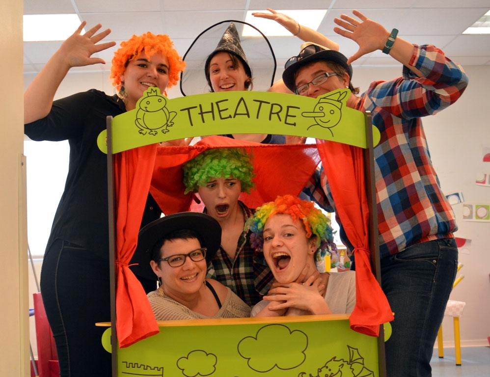 Equipe d'animation de l'été : Jennifer, Noémie, Christelle, Anne-Claire, Claire-Lise, Anaïs.